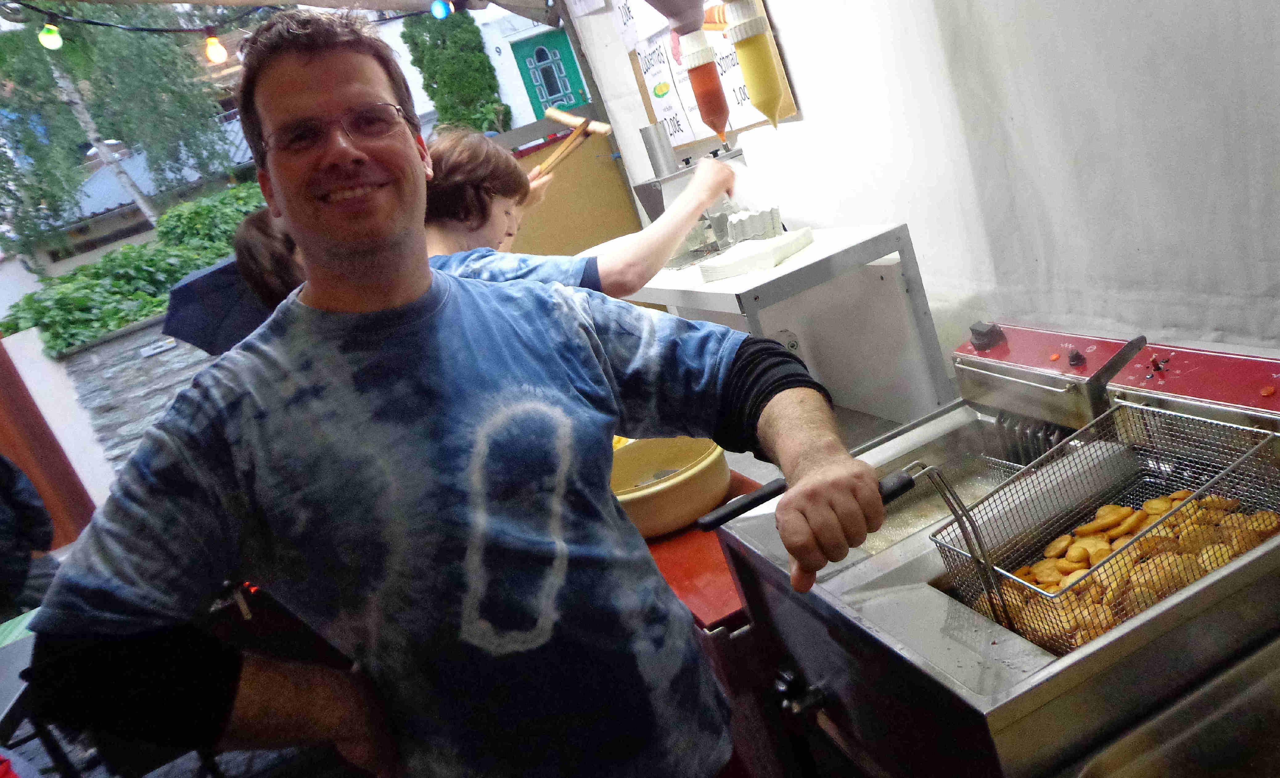 """Unser Mann von der Friteuse: der """"Erfinder"""" unserer leckeren Kartoffel-Chips"""