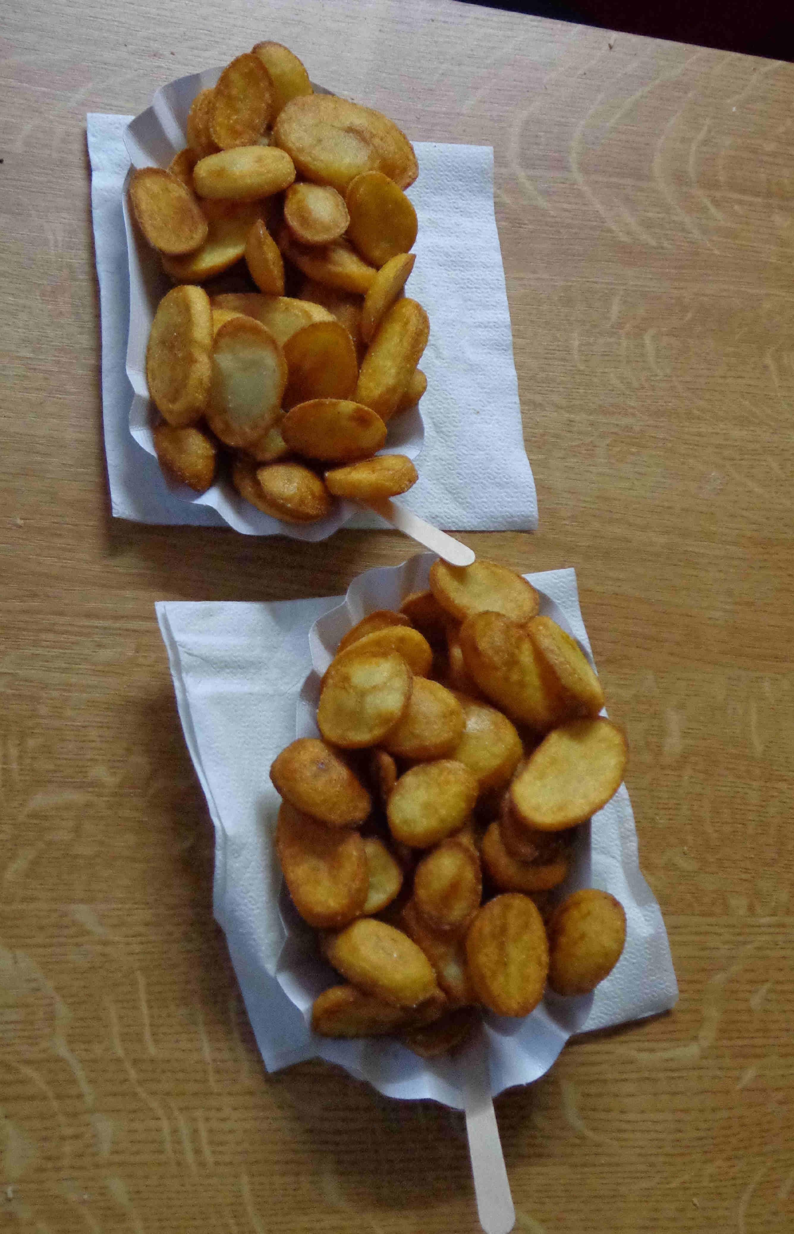 das neue Highlight bei Bauer Burkard: die leckeren Kartoffel-Chips