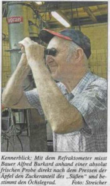 Bauer Burkard in der Oberurseler Woche